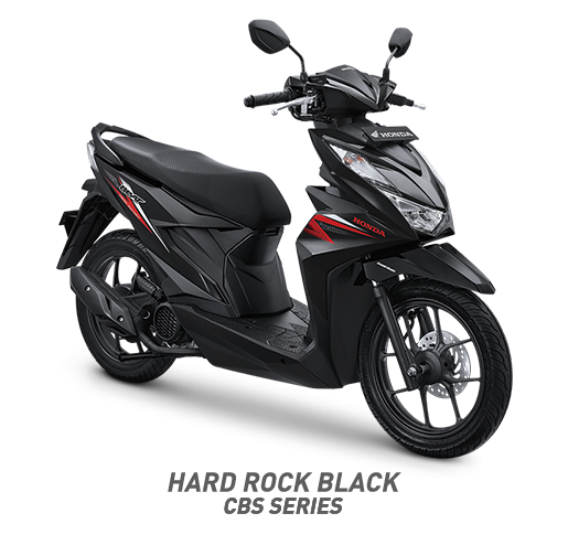 all new beat 2020 hard rock black honda cun motor