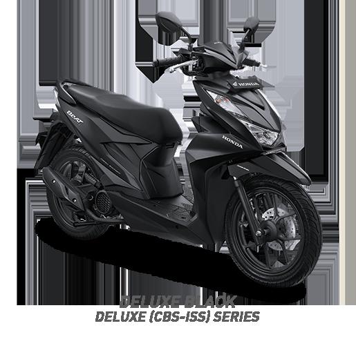 all new beat 2020 deluxe black honda cun motor
