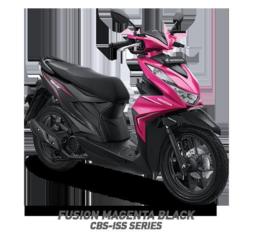 all new beat 2020 fusion magenta black honda cun motor