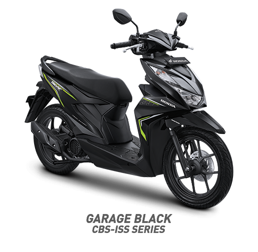 all new beat 2020 garage black honda cun motor