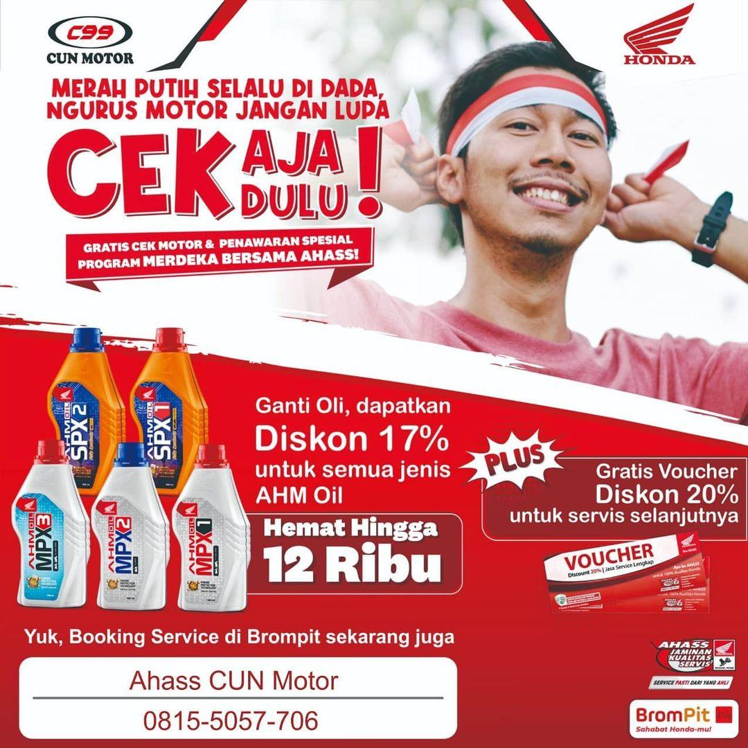 Promo Merdeka Ahass CUN Motor